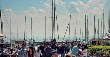 Új vitorláskikötő Balatonfüreden