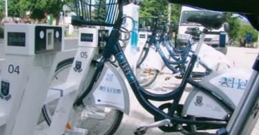 Hévízi közösségi kerékpár