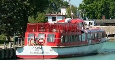Balatoni Hajózási Zrt. - Akali nevű hajója