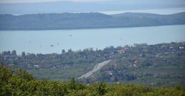 Látkép a Csákány-hegyi kilátóból.  Fotó: Ambrus Tibor