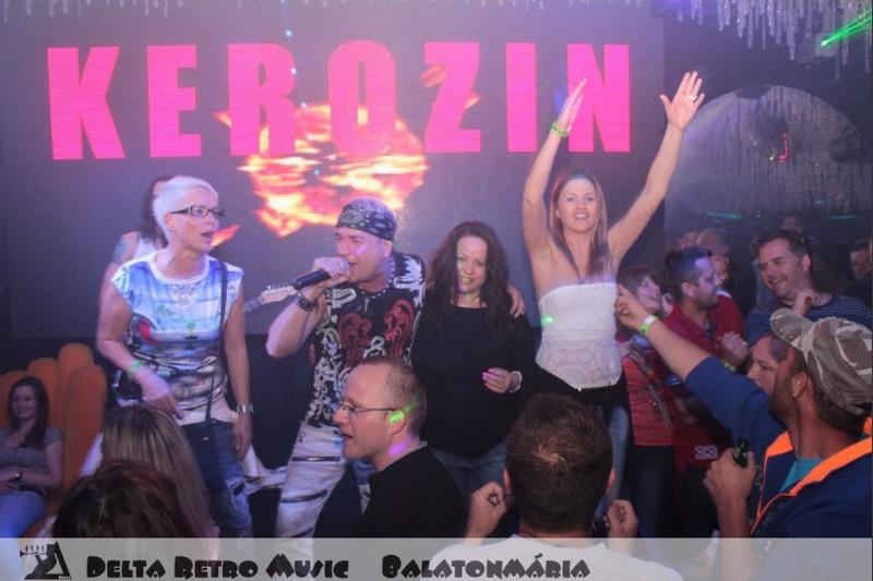 Kerozin együttes a Delta Clubban