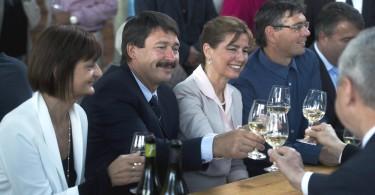 Áder János - Balatoni Hal- és Borünnep 2015