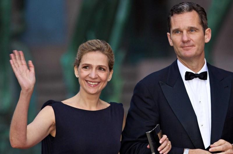 Krisztina hersegnő és VI. Fülöp spanyol király