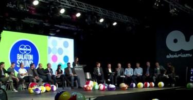 Nagyon Balaton sajtótájékoztató