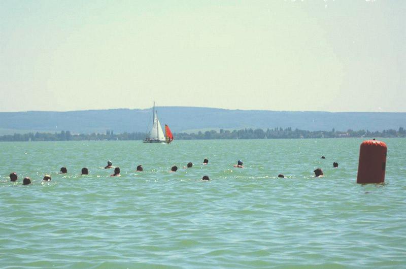 Balaton-átúszás 2014